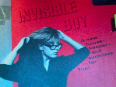 Invisible Boy - Eagle cover