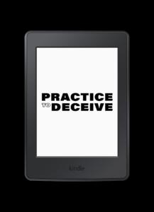 Practice to Deceive - mask fiction novel - buy on Kindle